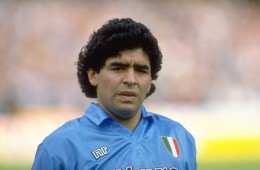 21 Oct 1990:  Portrait of Diego Maradona of Napoli SSC before an Italian League match against AC Milan at the San Paolo Stadium in Naples, Italy. The match ended in a 1-1 draw.  Mandatory Credit: Simon  Bruty/Allsport