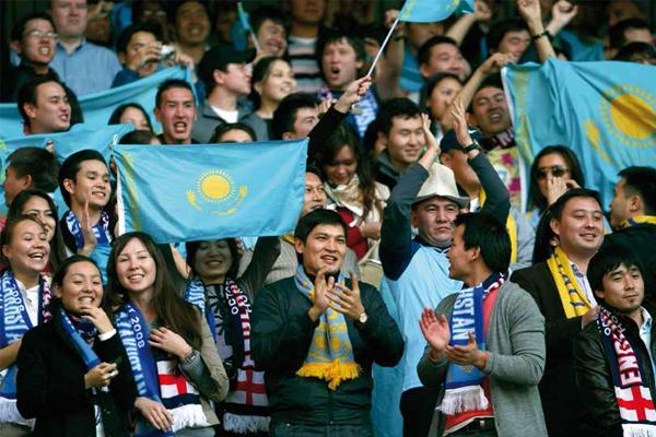 Alma asiática, fútbol europeo