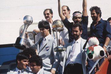 Nacional, campeón de la Intercontinental'88