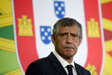 Newly appointed Portuguese coach Fernando Santos looks on during his presentation at the headquarters of the Portuguese Football Federation in Lisbon on September 24, 2014. Fernando Santos was on September 23 named as the new coach of Portugal, succeeding Portuguese compatriot Paulo Bento. Santos, who will be 60 next month, is a former coach of Greece, whom he took to the quarter-finals of the 2012 European Championship and the round of 16 in the World Cup in Brazil.   AFP PHOTO / FRANCISCO LEONG        (Photo credit should read FRANCISCO LEONG/AFP/Getty Images)
