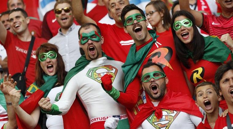Football Soccer - Poland v Portugal - EURO 2016 - Quarter Final - Stade Vélodrome, Marseille, France - 30/6/16 Portugal fans before the match REUTERS/Christian Hartmann Livepic