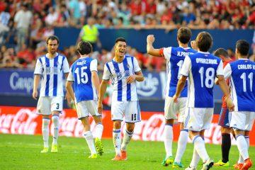 Osasuna vs Real Sociedad-27.8.16-Iruña-Fotos José Mari López