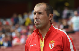 LONDON, ENGLAND - AUGUST 02:  Monaco manager Leonardo Jardim looks on during the Emirates Cup match between Valencia and AS Monaco at the Emirates Stadium on August 2, 2014 in London, England.  (Photo by Michael Regan/Getty Images)