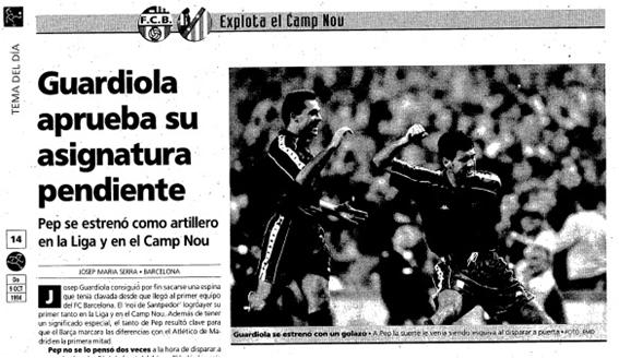 Noticia publicada en el diario Marca