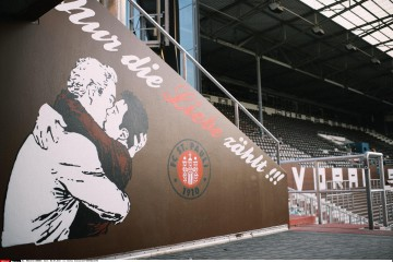 Germany Football Club St. Pauli on Permanent Display in Anti-Homophobia Statement