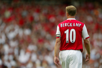 london 2006-07-22 Dennis Bergkamp, Arsenal Photo: Mike Egerton / PA-EMPICS / SCANPIX kod 419 ***BETALBILD***