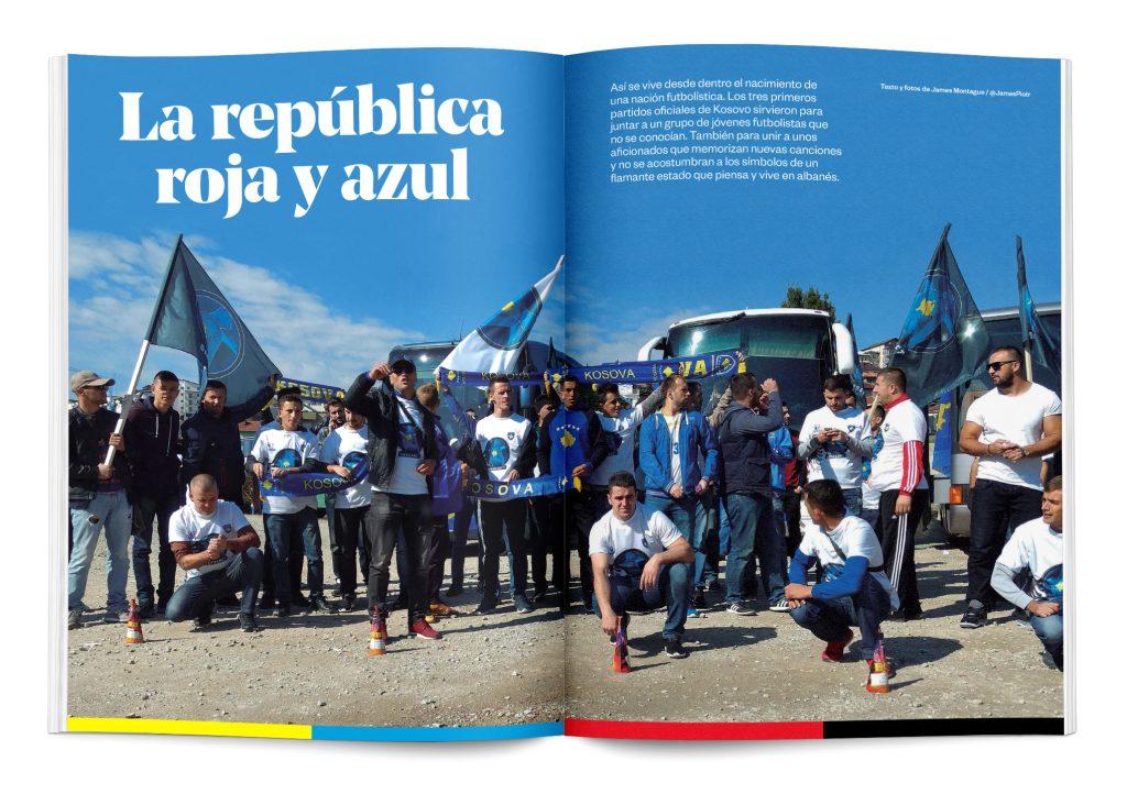 república roja y azul