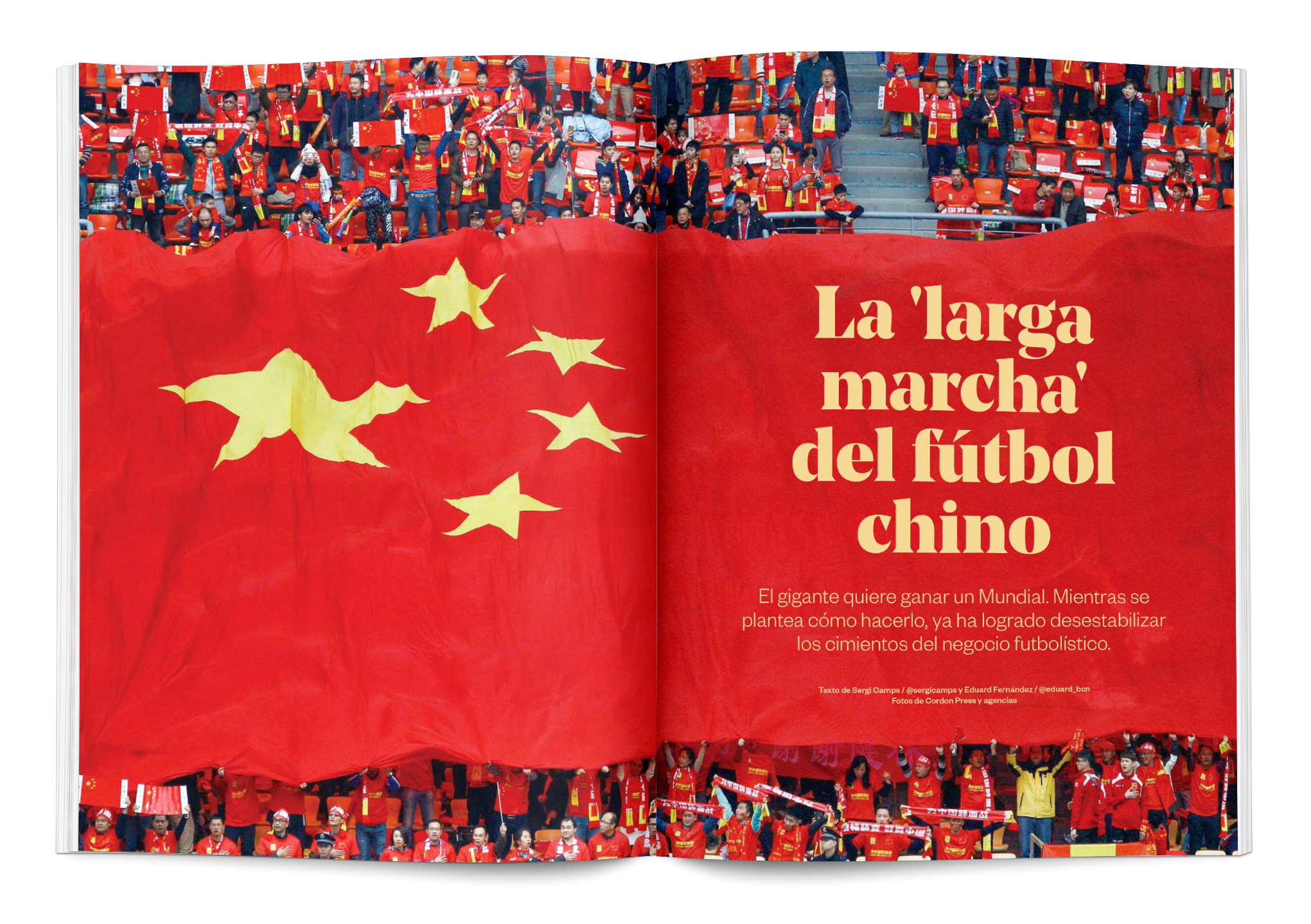 La larga marcha del fútbol chino