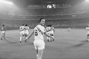 Beckenbauer en el Cosmos