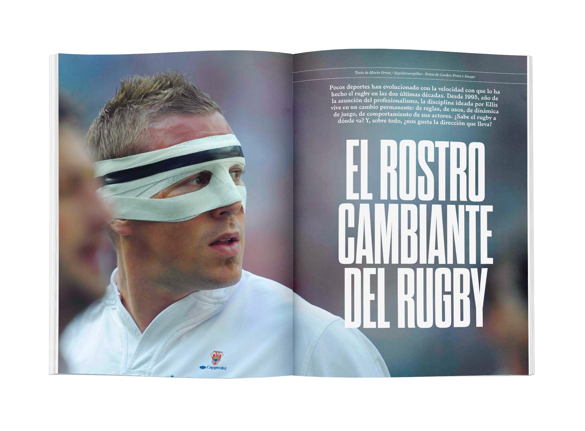 El rostro cambiante del rugby