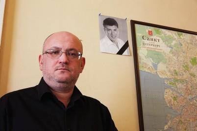 Maxim Reznik deputy. Photo by Sergey Grachev