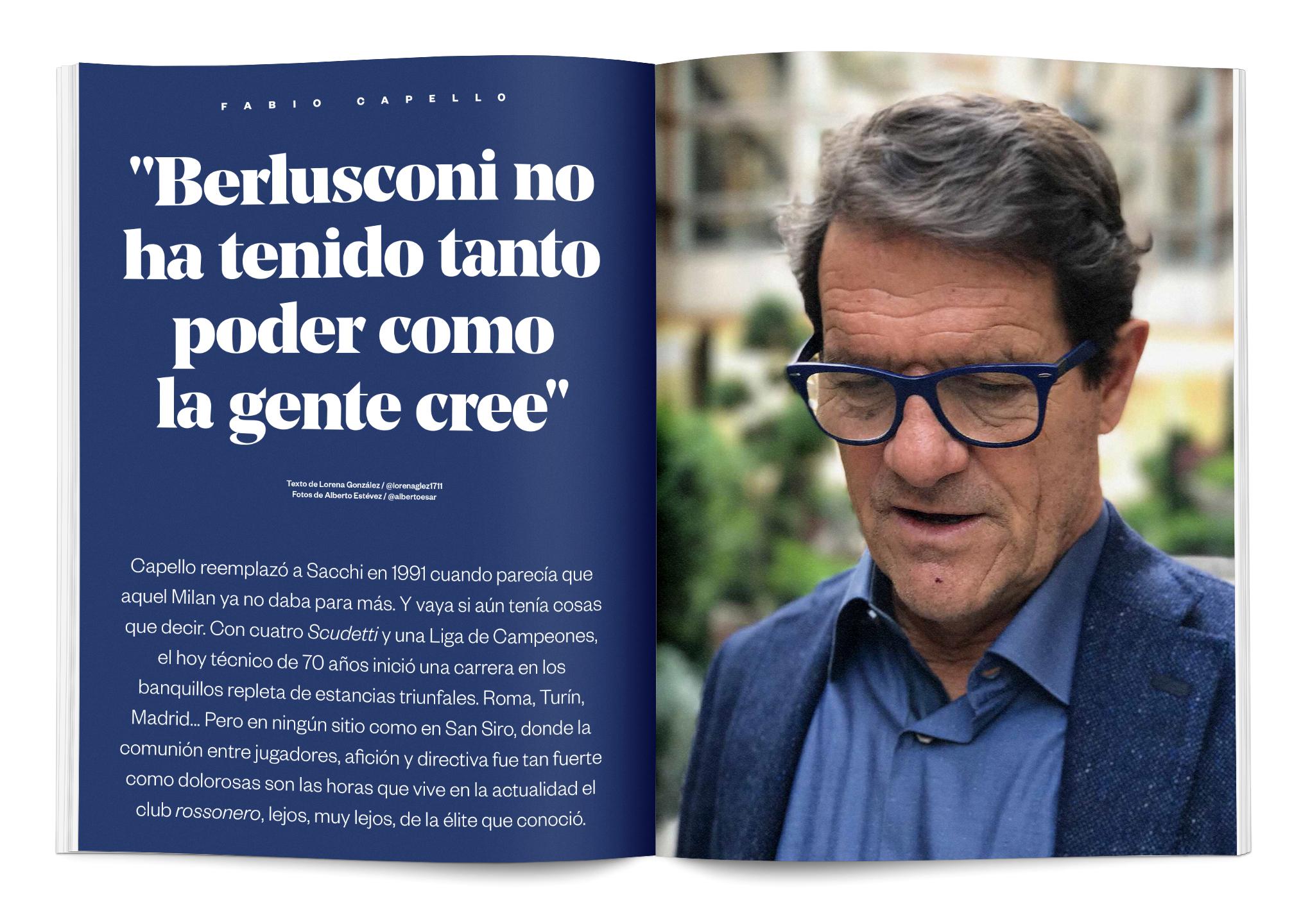 entrevista Capello