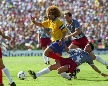 Soccer - World Cup USA 94 - Group A - USA v Colombia