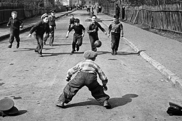 niños futbol
