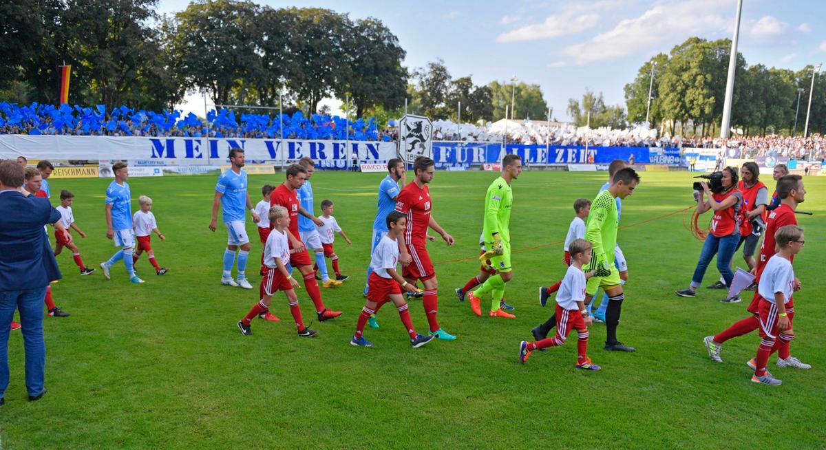 Mi equipo para siempre. Así arropaba la afición del 1860 en el debut en Regionalliga - MIS