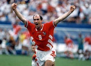 Soccer World Cup 1994: Germany vs Bulgaria - Letchkov